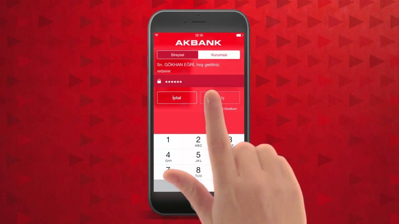 Akbank Şubeye Gitmeden Kredi Başvurusu