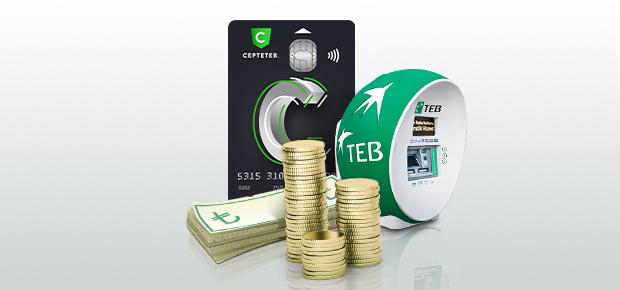 CEPTETEB ile 3 Dakikada Masrafsız Kredi