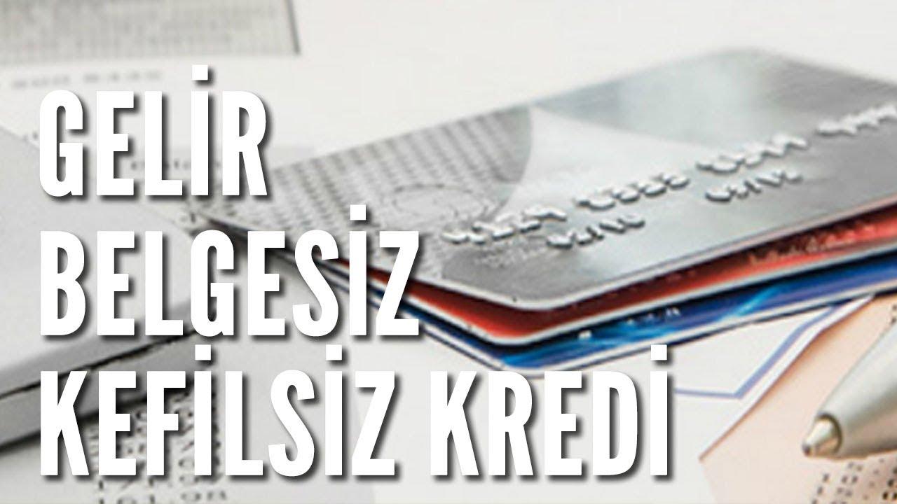 Gelir Belgesiz 30 Bin TL Kredi Veren 8 Banka