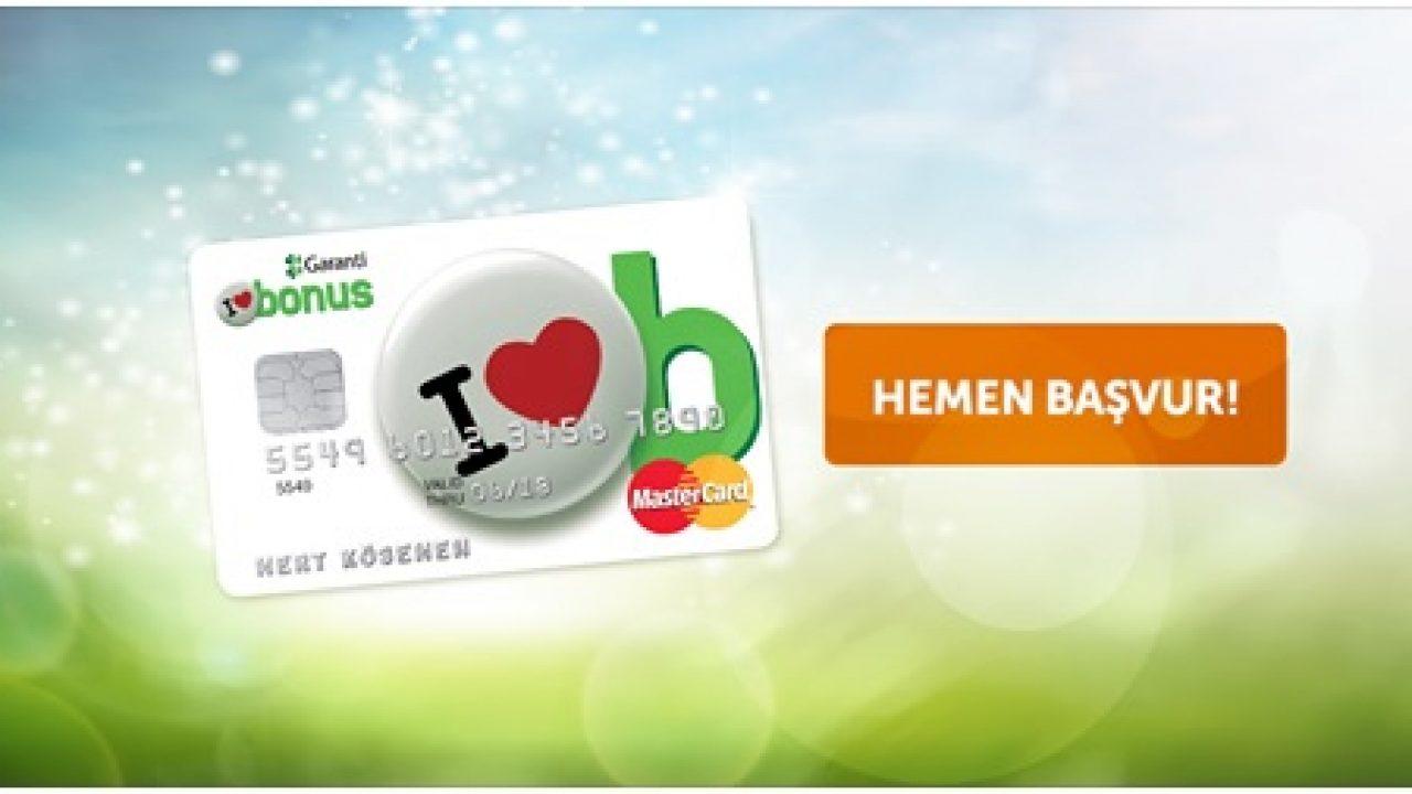 Bonus Card Kredi Kartı Başvurusu