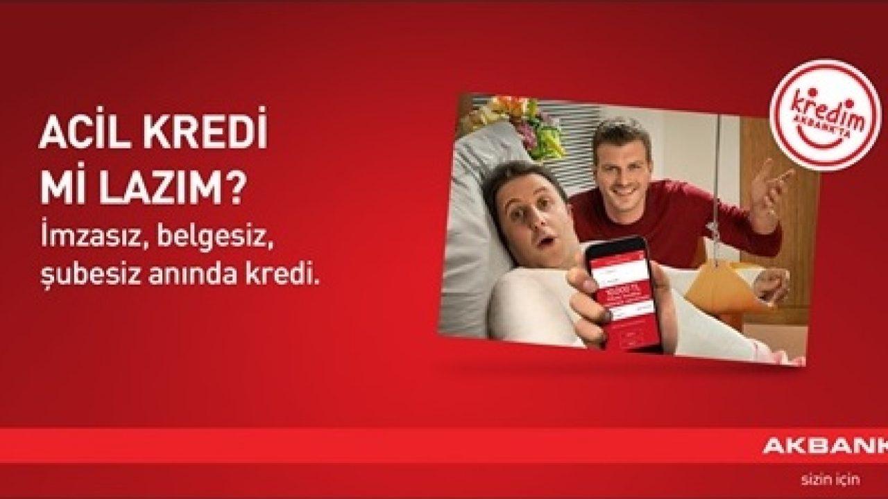Akbank Şubesiz Belgesiz Kredi