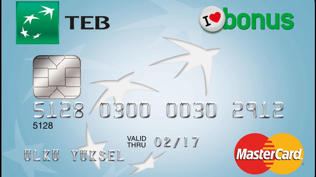 TEB Bonus Card Kredi Kartı ile Harcarken de Bonus Kazanmak İçin Hemen Başvurun